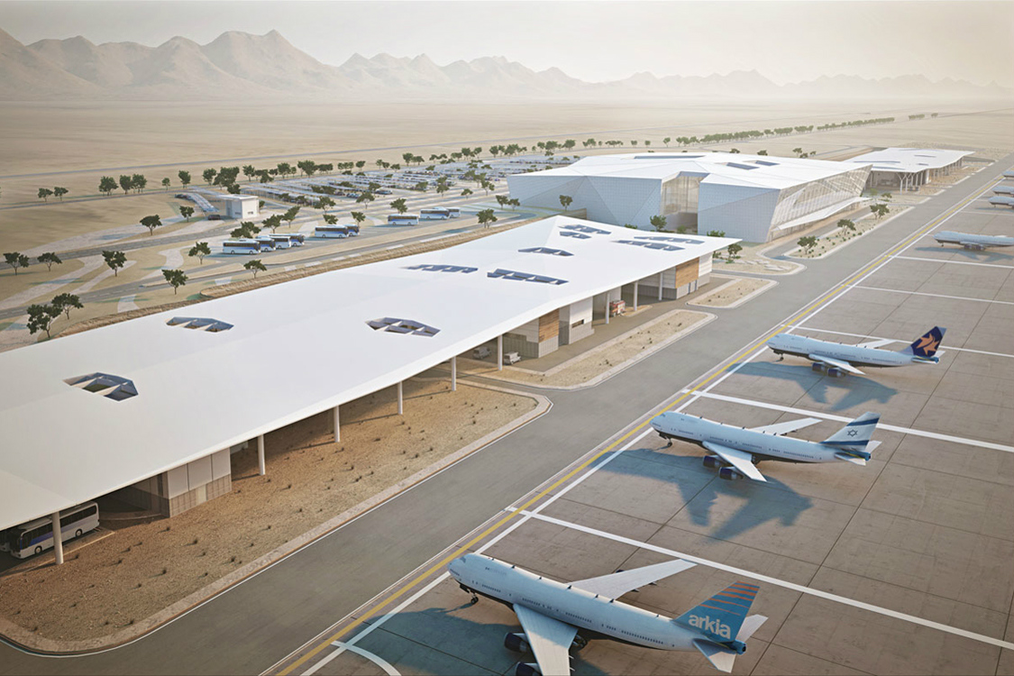 Ilan and Assaf Ramon Int. Airport – Eilat Israel